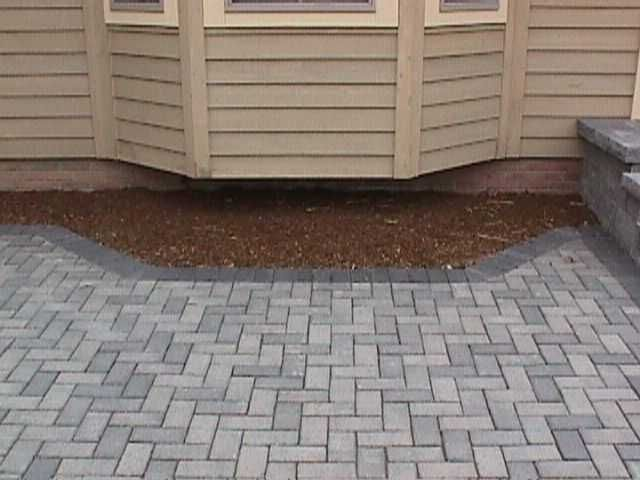Herringbone pavers  Patio  Pinterest  Backyard projects