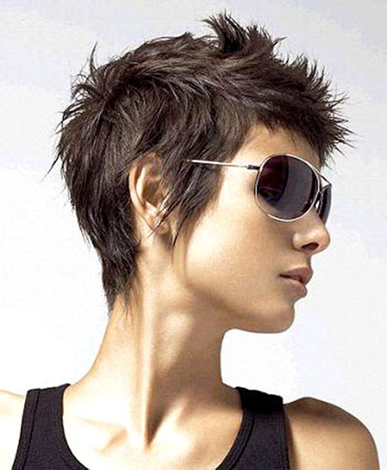 Short Messy Hairstyles Image Ideas Short Haircuts For Girls In