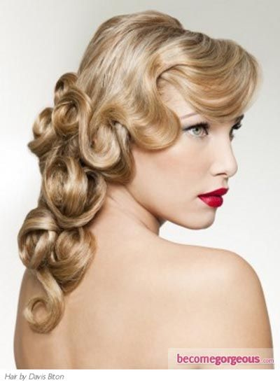 1920s Hairstyles For Long Hair With Fringe 400×550 Hair