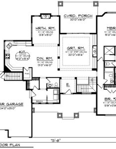 This ranch design floor plan is sq ft and has bedrooms bathrooms also pin by sarah pilon on home layout ideas pinterest rh
