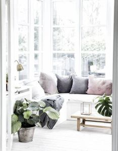 What  gorgeous light filled day bed and some stunning greenery home decor also rh pinterest