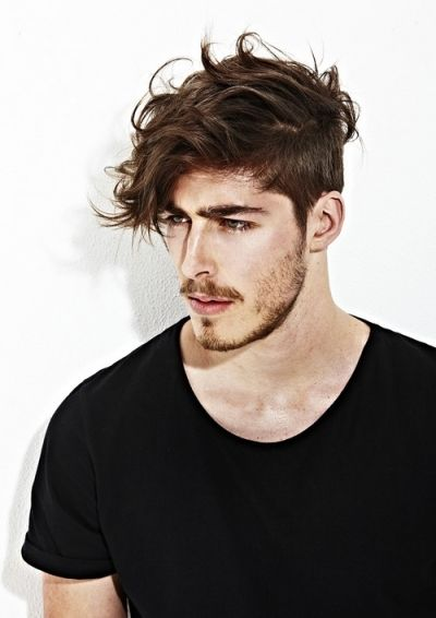 Cool Messy Hairstyle For Men Guys Haircuts Pinterest Medium
