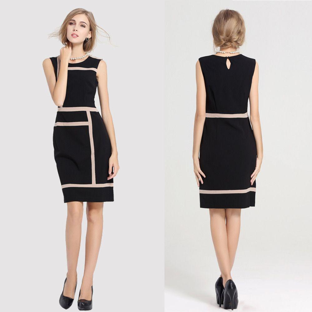 FashionwomensSlimmingDesignOfficeWorkDressProm