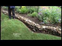 Garden Rock Wall - YouTube | Garden How-Tos | Pinterest ...