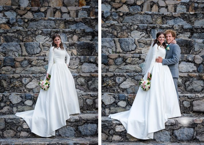 Modest Wedding Dress At Provo Castle