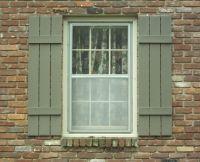 Wooden Slat Shutters | Shutters and Hardware | Pinterest ...