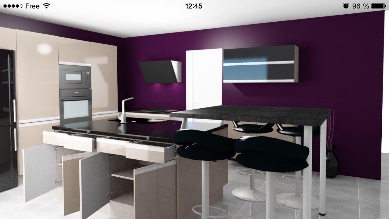 Cuisine Star Jet Cuisinella Notre Maison Amethyste Gi Ph Par Eseltegria Sur Forumconstruire