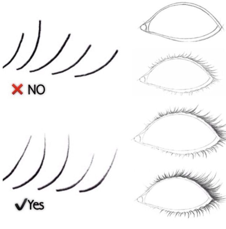 How to draw lashes. Nail Design, Nail Art, Nail Salon