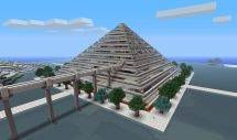 Minecraft Pyramid Design