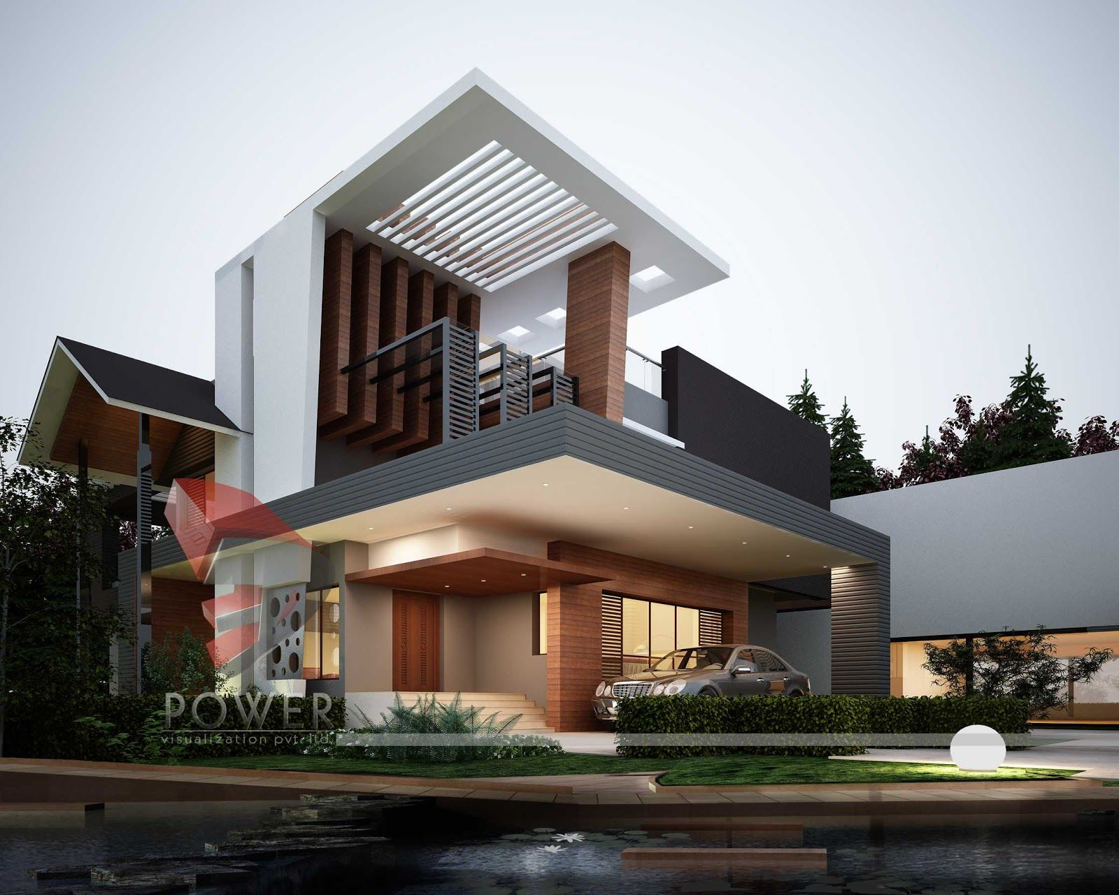 Modern Architecture Houses 6 Semidetached Homes Fair Design Ideas