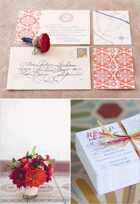 Spanish Wedding Invitations Inspiration For