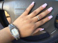 Medium Length Acrylic Nails | Nails | Pinterest | Acrylics ...
