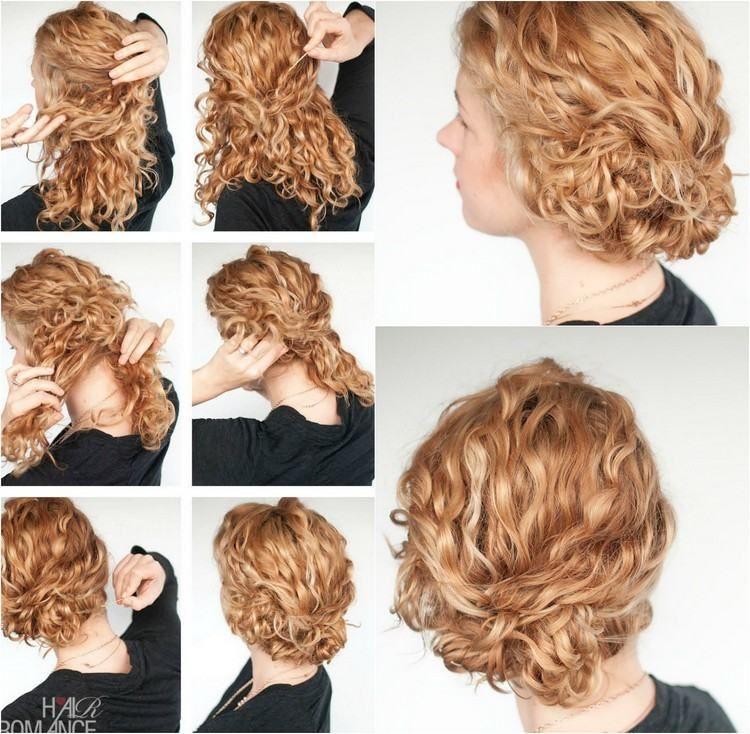 Lässiger Chignon Für Mittellange Haare Selber Machen Frisuren