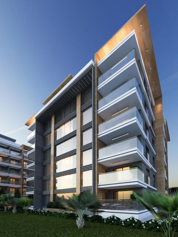 Apartments Facade Architecture Design