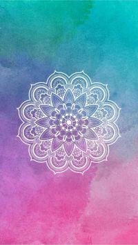Mandala / Wallpaper / lockscreen / colorido | Fondos para ...
