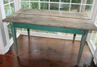Antique Farmhouse Kitchen Table - Image to u