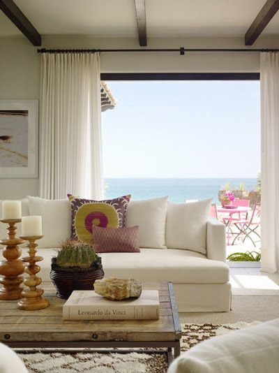 Ocean front villa kara mann beach house decor pinterest and room also rh