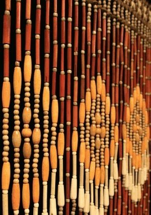 Wood Beaded Curtains Daze Of My Youth ☮ Pinterest Curtains