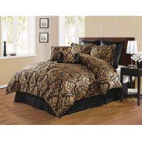 brown and gold bedding sets pUiLkXRg | Comfort Set Design ...