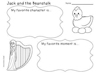 Jack and the Beanstalk: Literacy, Math, & Science