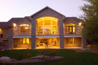 lakefront home plans with walkout basement | ... Homes ...