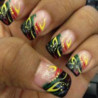 My Jamaica Nails :-) | My Style | Pinterest | Jamaica ...