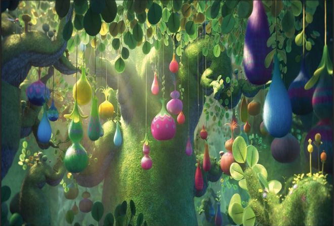 Image result for trolls movie scenery
