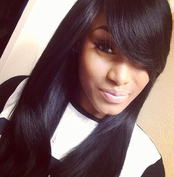 Quick Weave Hairstyles With BangsDownload Full HD Wallpaper