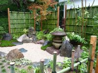 Japanese Garden Design Beautiful With Stone Lamp Place ...