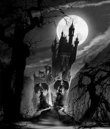 Dracula Hotel Transylvania Art