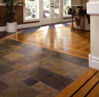 Flooring | floor ideas | Pinterest | Tile flooring, Slate ...