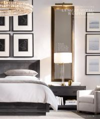 Love the long mirrors over nightstands framing the bed on ...