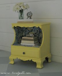 Refinished Night Stand Ideas