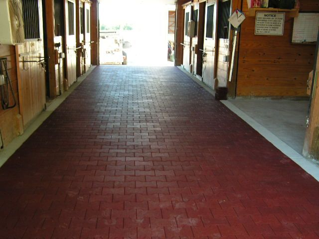 The floor that your horse stands on helps to protect his