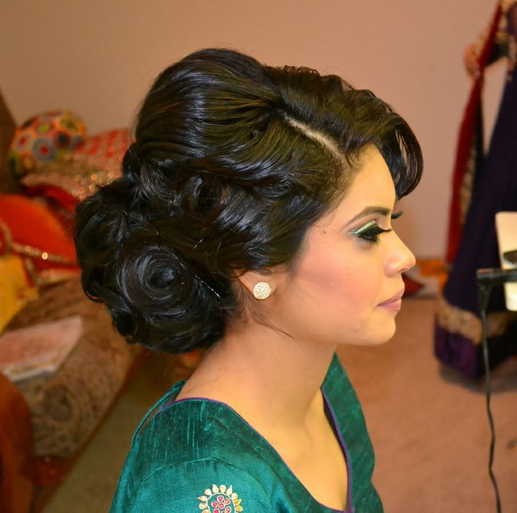Best Updo For Indian Wedding Google Search Eric's Wedding