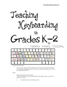2nd Grade KEYBOARDING@TeachersPayTeachers Here are some