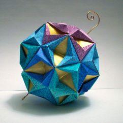 Soccer Ball Modular Origami Diagram S10 Brake Light Switch Wiring Star Gold Blue Green And Purple