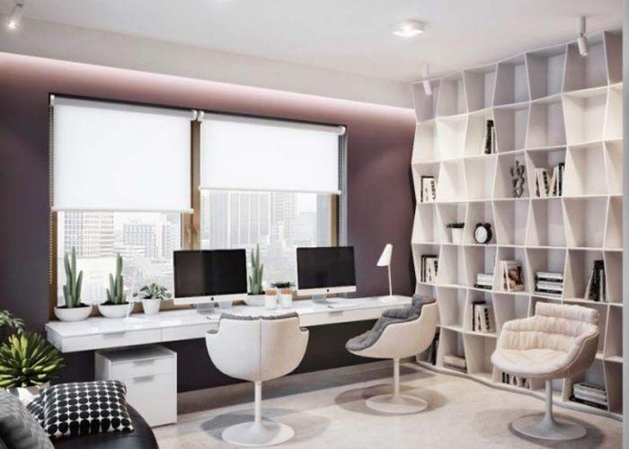 stunning modern home office designs also smallest