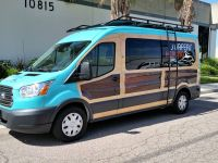 Ford Transit...awesome customized van! Just installed ...