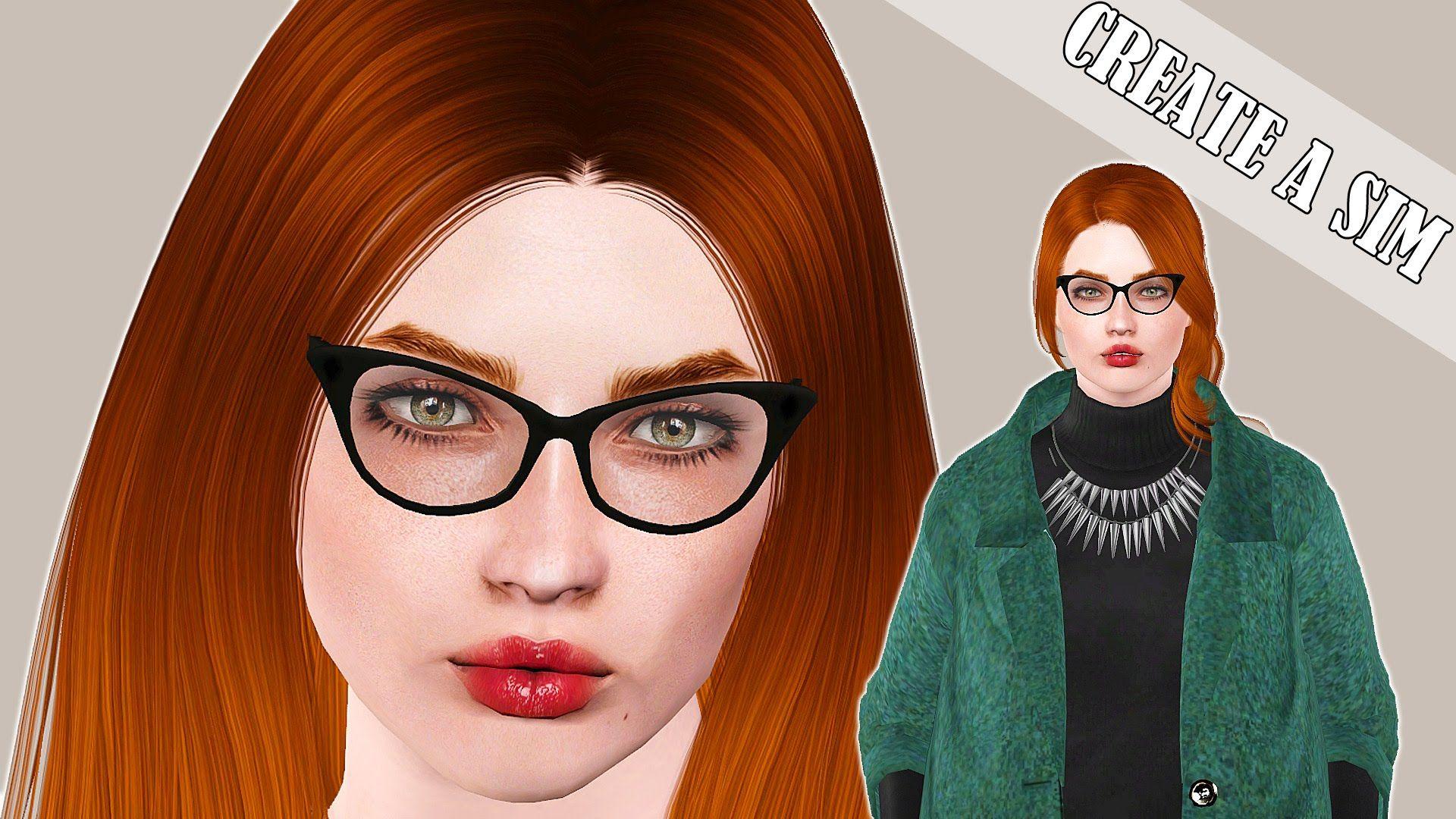 The Sims 3 Create a Sim Modern Artist D
