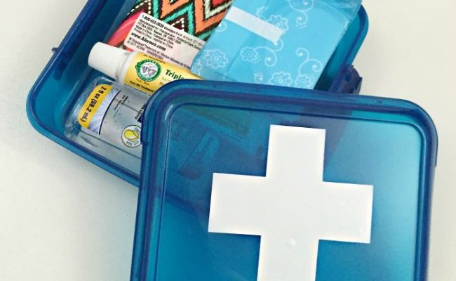 What To Include In A Travel First Aid Kit From Dollar Tree