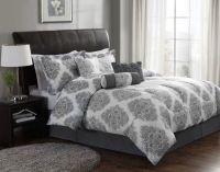 Ooh, we like the new Barba Comforter Set. Modern Gray and ...