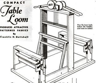 How To Make Build 4 Heddle Table Weaving Loom Weave