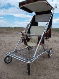Antique Vintage Old Retro Baby Child Infant Stroller ...