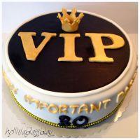 VIP-Torte zum 30. Geburtstag - very important Party ...