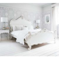 Provencal Sassy White French Bed (Double) | French ...