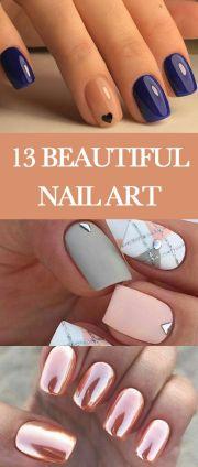 beautiful summer nail art design