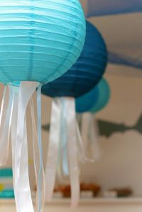 Jellyfish lanterns ~ perfect for under the sea birthday ...