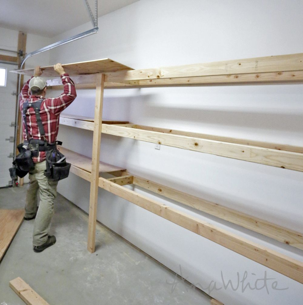 Ana White  Build a Easy and Fast DIY Garage or Basement