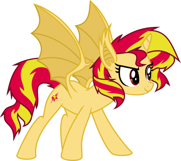 My Little Pony Vampire FileSunset Shimmer vampirebat